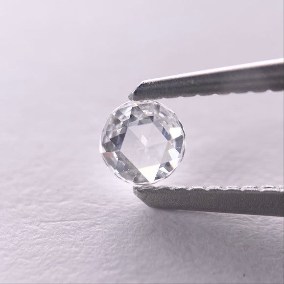 0.17ct 3.9mm White Round Rosecut RR-RC-4/3
