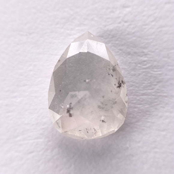 2.02ct 9.90x7.25x3.25mm Pear Rosecut IC1049