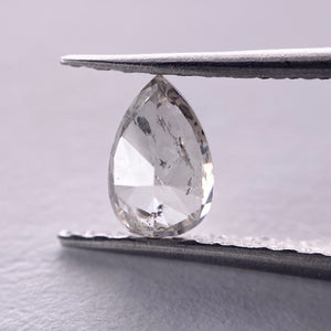 0.70ct 6.60x4.30x3.30mm Pear Rosecut GR1026