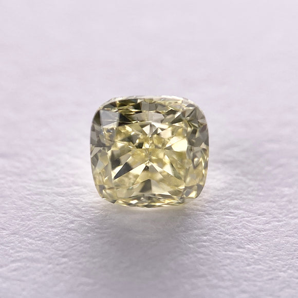 0.52ct 4.35x4.20x3.18mm Cushion Shape Brilliant Cut F-046