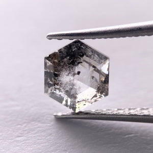 0.84ct 7.20x6.25x2.40mm Hexagon Rosecut SP1304
