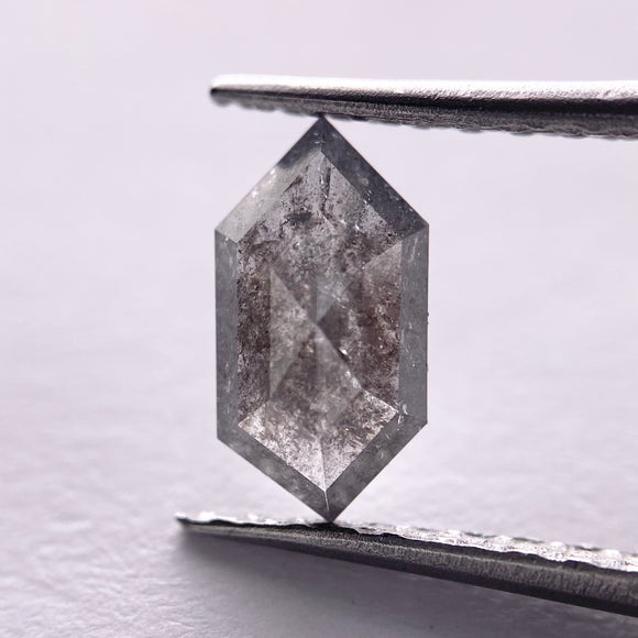 0.84ct 8.80x4.60x2.30mm Hexagon Rosecut SP1335