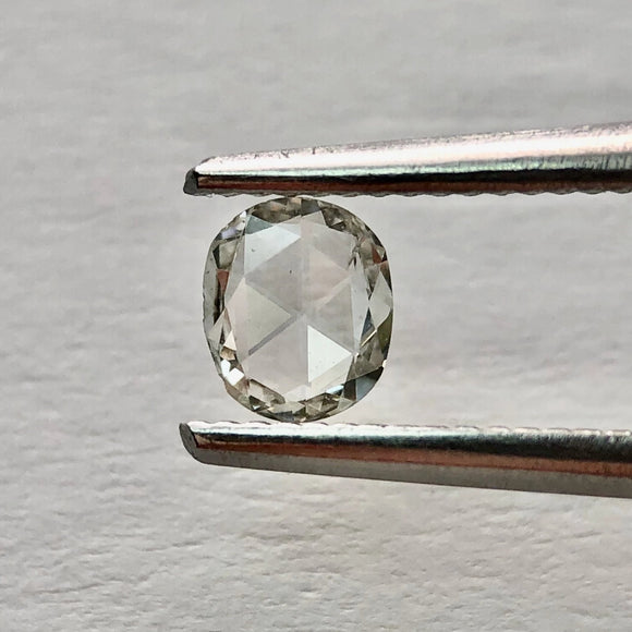 0.17ct 4.80x3.99x1.04mm Oval Rosecut RR3187