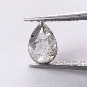 0.74ct 7.05x4.70x2.80mm Pear Rosecut SP1284