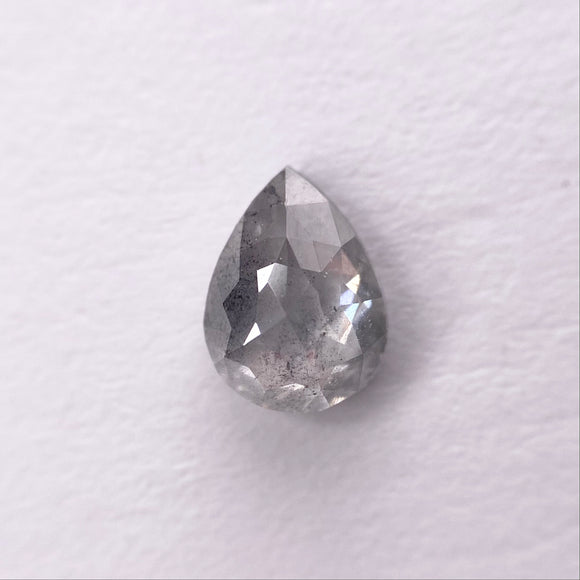 0.64ct 6.50x5.80x2.40mm Pear Rosecut SP1327