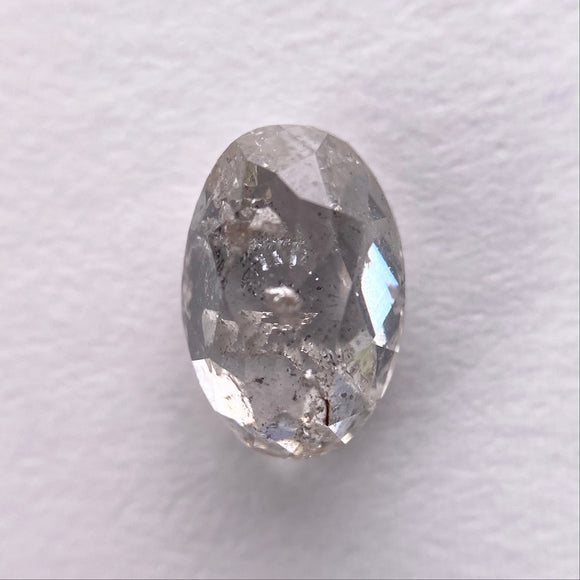 0.96ct 7.30x4.91x2.82mm Oval Rosecut IC1048