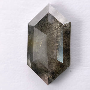 4.05ct 16.49x8.95x2.77mm Hexagon Rosecut SP2025