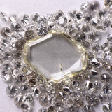 1.33ct 10.03x8.03x1.69mm Geometric Rosecut WRC27-84
