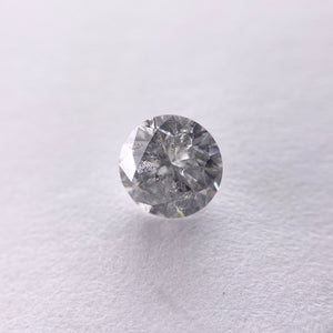 1.04ct 6.31x6.30x3.99mm Salt and Pepper Round Brilliant RR1138