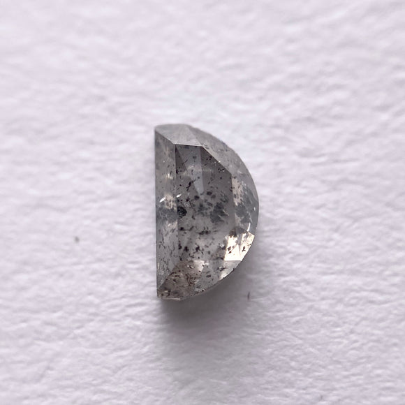 0.35ct  5.20x3.00x2.00mm Half Moon Rosecut 40069-25-2