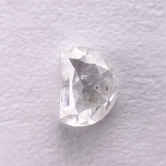 0.35ct 5.20x3.80x1.80mm Half Moon Rosecut IC1008-4