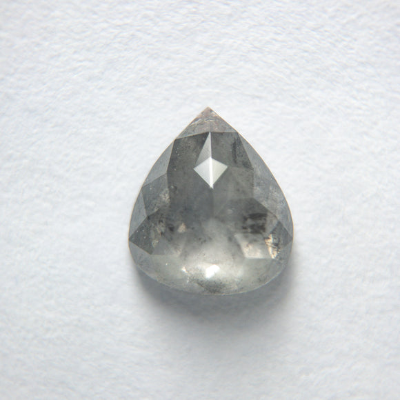 0.90ct 7.15x6.22x2.70mm Pear Rosecut SP113-734