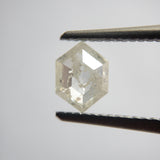 0.65ct 6.91x5.07x2.55mm Hexagon Rosecut SP113-737
