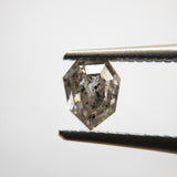 1.04ct 6.17x5.17x4.07mm Shield Double cut SP117-695
