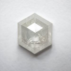 2.17ct 9.43x8.26x3.25mm Hexagon Rosecut SP130-888