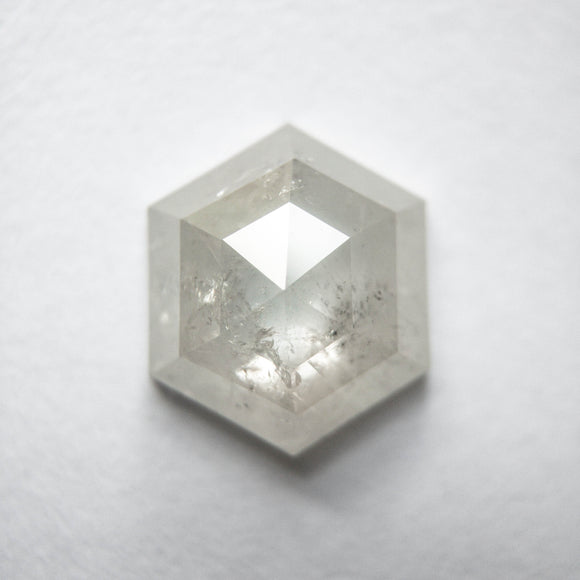 2.24ct 9.52x8.08x3.41mm Hexagon Rosecut SP130-893