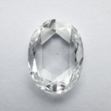 1.72ct 9.86x7.44x2.57mm VS2 F Oval Rosecut WRC31-95