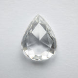 1.45ct 8.91x7.02x2.84mm Pear Rosecut WRC33-101