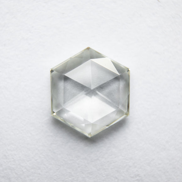 0.95ct 7.70x6.69x2.08mm Hexagon Rosecut WRC42-142