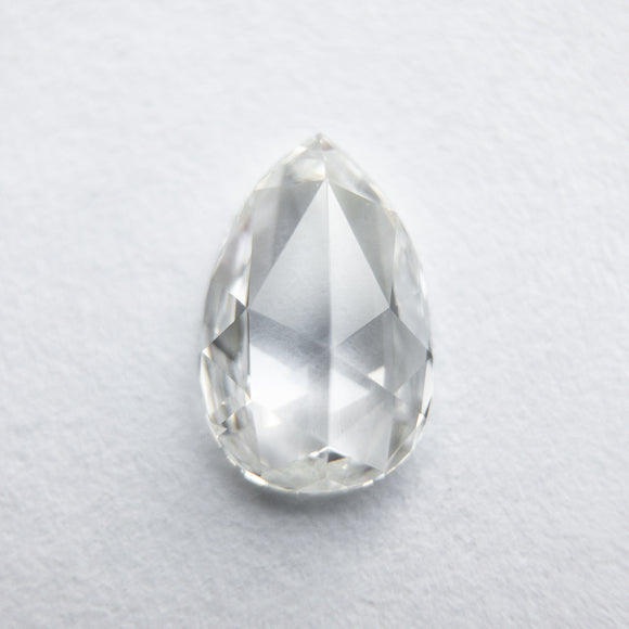 0.71ct 0.81x5.26x2.12mm Pear Rosecut WRC44-148