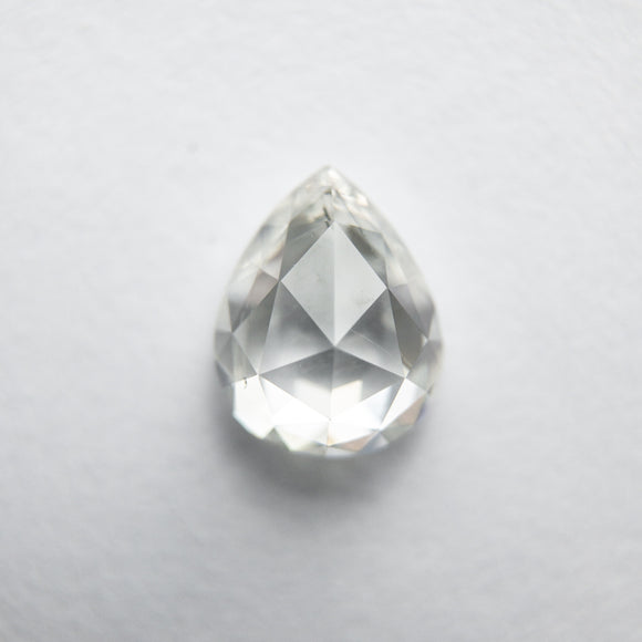 1.08ct 7.16x5.71x3.24mm Pear Rosecut WRC48-163