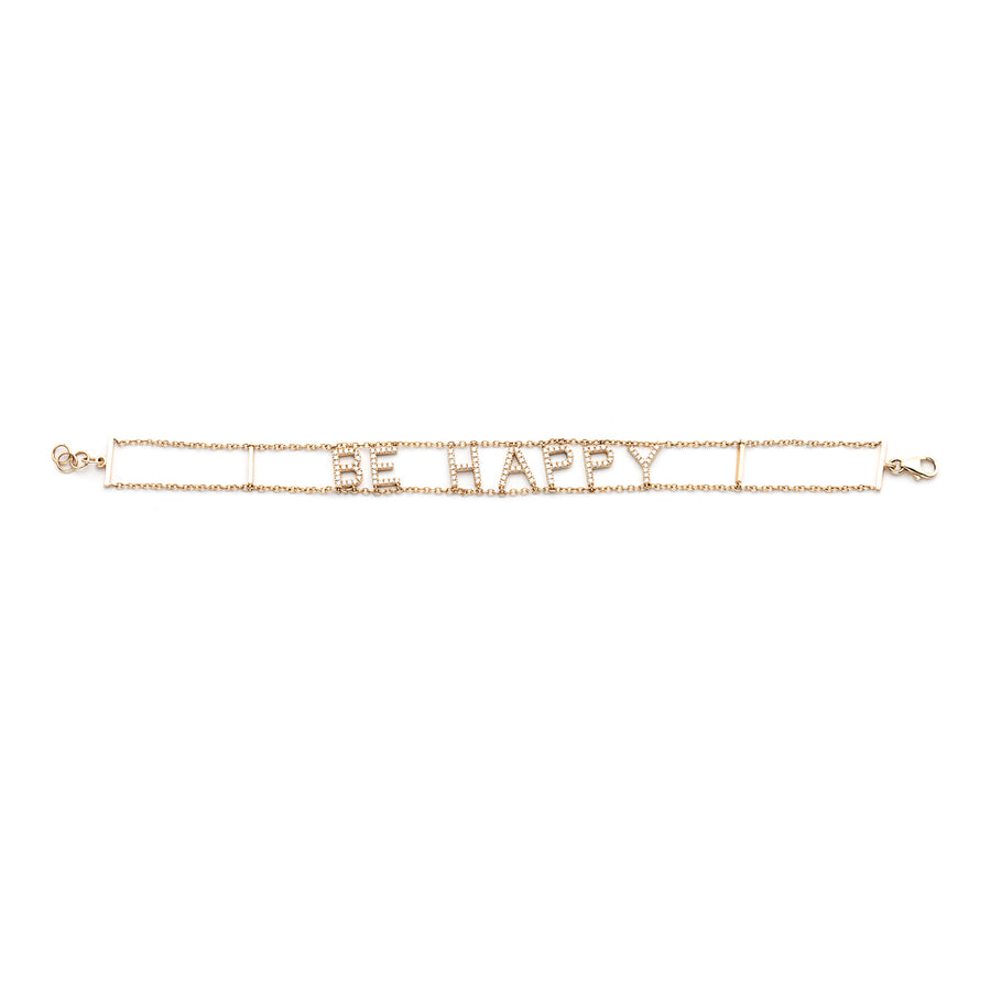 Be Happy Diamond Bracelet