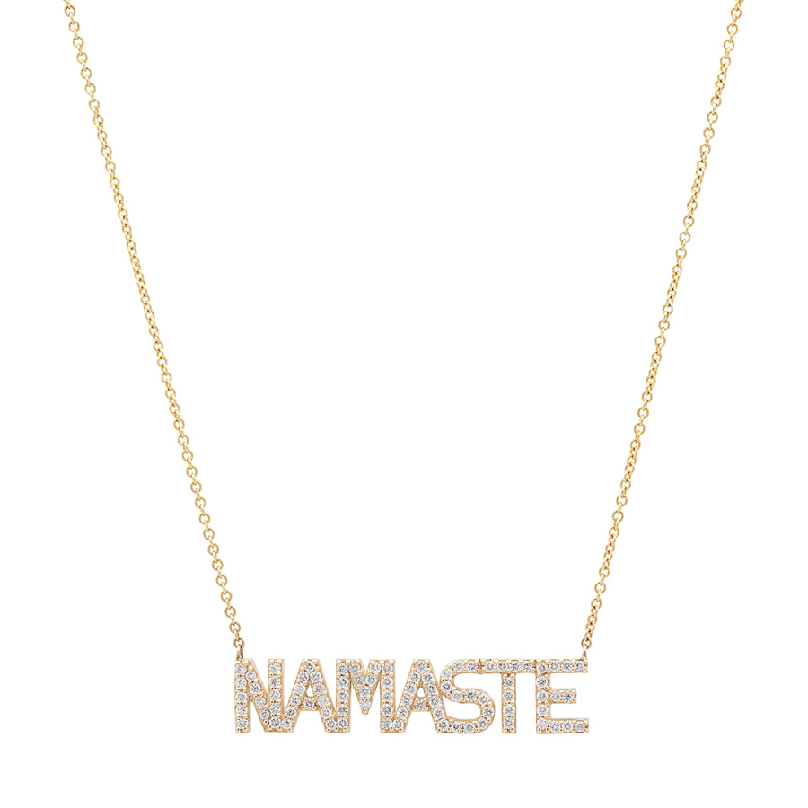 Namaste Diamond Necklace