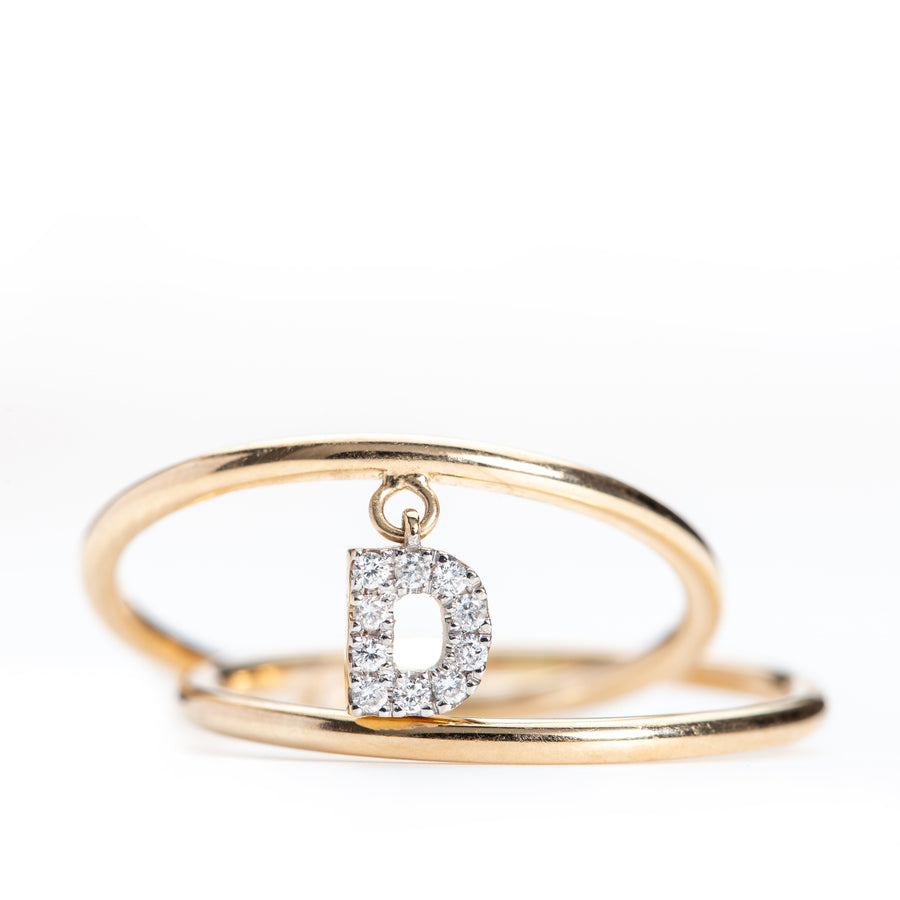 Diamond Initial Intertwined Ring