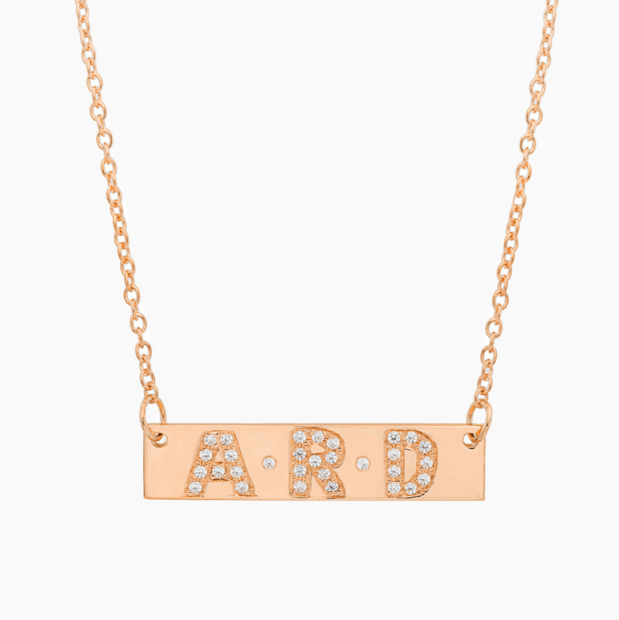 Trio Bar Necklace