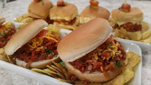 Sloppy Joe con jamones