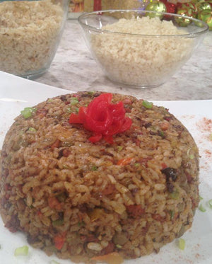 Arroz Mamposteao de Gandules