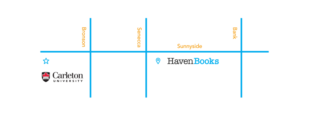Haven Books Map