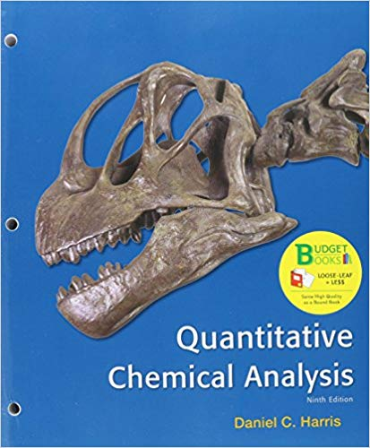 Quantitative Chemical Analysis (Loose-Leaf)