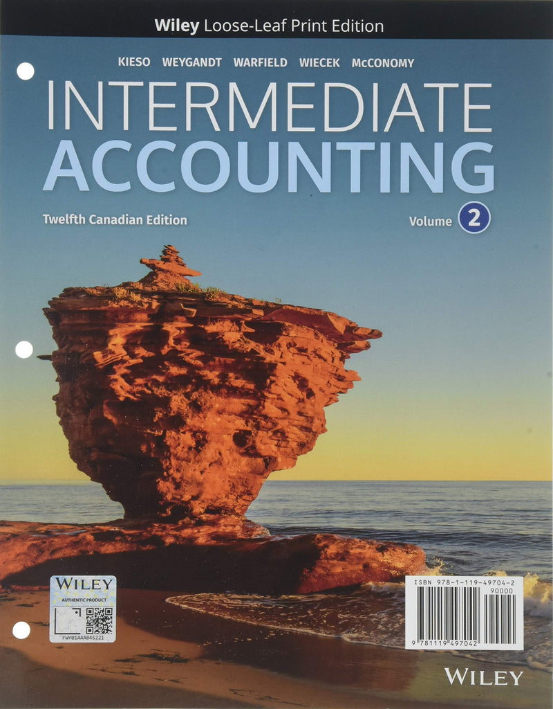 Intermediate Accounting, Volume 2 (Loose-Leaf)
