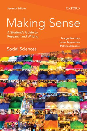 Making Sense in the Social Sciences (used) $23