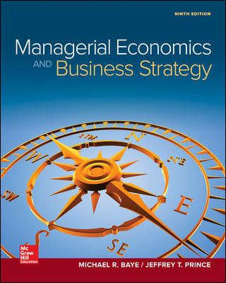 Managerial Economics And Business Strategy (used) $125