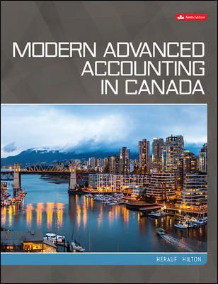 Modern Advanced Accounting in Canada WITHOUT Access Code (USED) $100