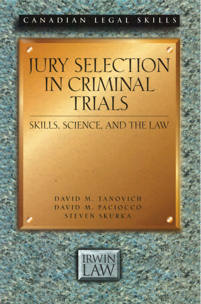 Jury Selection in Criminal Trials