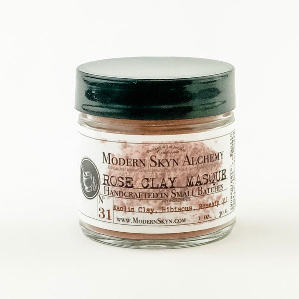 ROSE CLAY MASQUE - MODERN SKYN ALCHEMY HANDCRAFTED SKINCARE