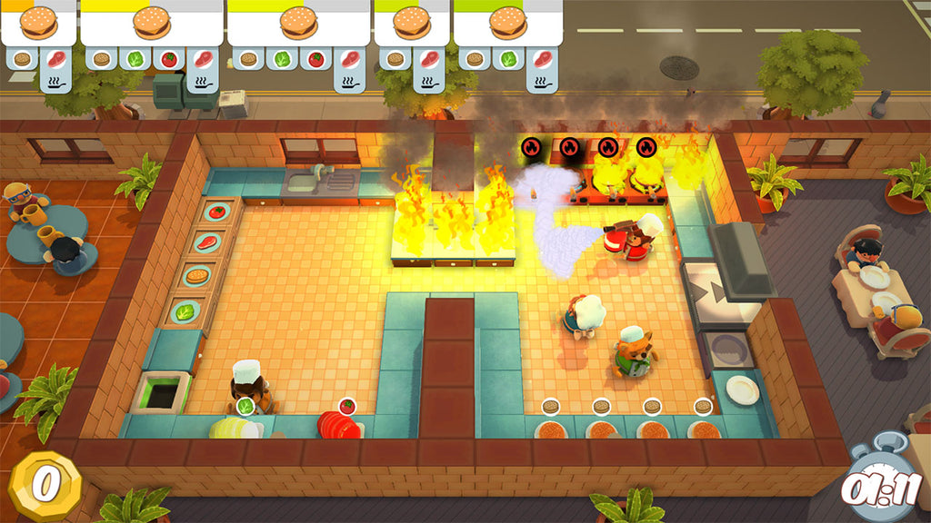 Overcooked - Ghost Town Games