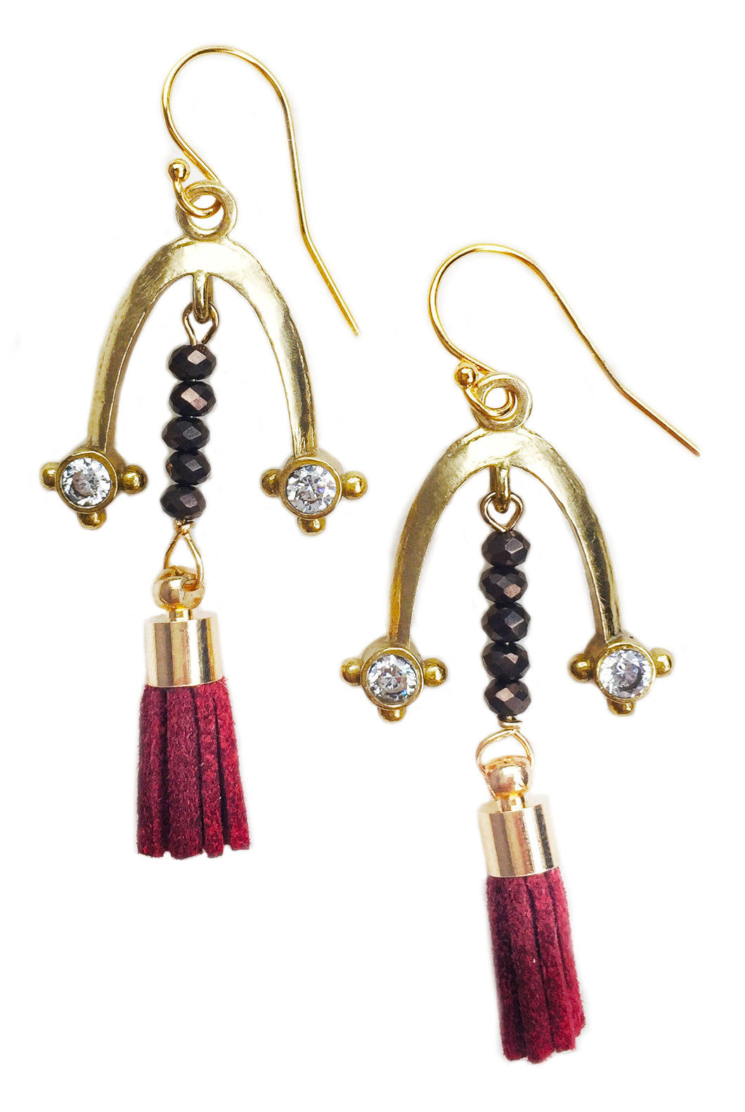 Arch Eye Tassel Earring
