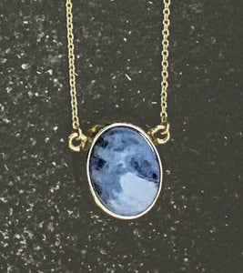 "Take me to Maldives-17"" Sodalite Pendant"