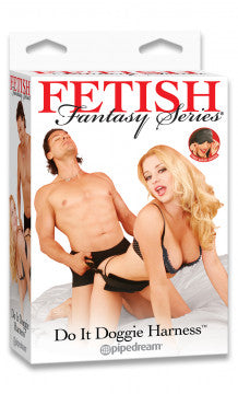 Fetish Fantasy Doggie Style Harness Kit -  Night in Heaven