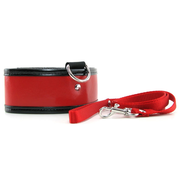 Sex & Mischief Red Leash & Collar