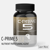 C-PRIME 5 is a nutrient partitioning agent designed to support healthy utilization of carbohydrates and amino acids. C-PRIME 5 contains ingredients which support nutrient uptake by muscular tissue.