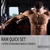In this episode RAM Advantage CEO Brandon DiNovi discusses 5 steps to create an optimal environment for muscular hypertrophy.