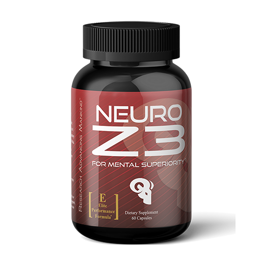 NEURO Z3 is a next generation supplement containing ingredients which support cognition, motivation and mood in active people Ingredients: ALCAR, L-Tyrosine, Alpha GPC, L-Theanine, Huperzine A