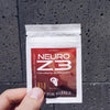 NEURO Z3: Cognitive enhancer, nootropic, containing ALCAR, Tyrosine, Alpha GPC, Theanine and Huperzine A TRAVEL PACKS