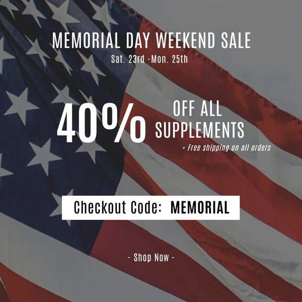 40% OFF ALL WEEKEND