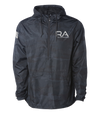 BLACK CAMO ANORAK WATERPROOF WINDBREAKER are designed to be worn in all weather conditions. Rain, snow, sun, and wind are no match for these durable jackets. Plus with the highly reflective print you will feel safe even in low light conditions.